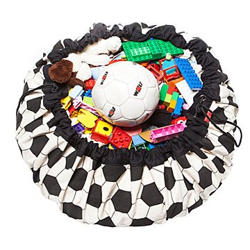 Play and Go Storage Mat - Soccer