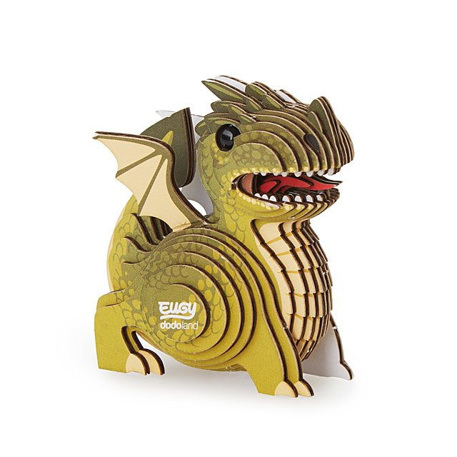 Mini Dragon 3 D Model Kit by Uncommon Goods