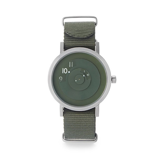 Green Reveal Watch