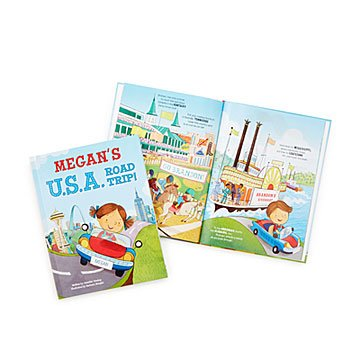 Personalized USA Road Trip Book