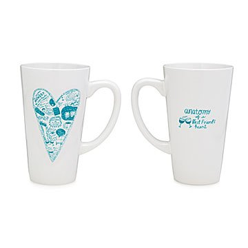 Anatomy of a Best Friend's Heart Mug