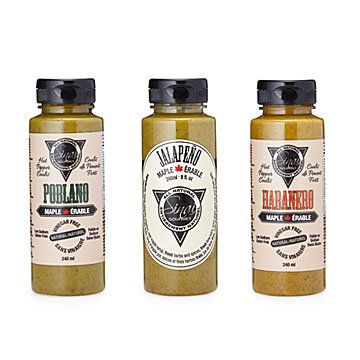 Maple Hot Sauce Trio