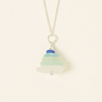Sea Glass Cairn Necklace