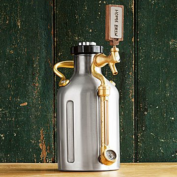Beer Gifts for Him - Pressurized Growler