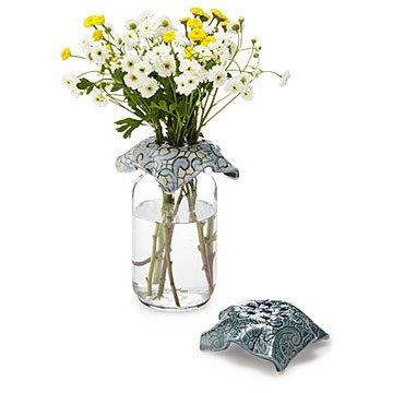 Flower Top Set And Jar Vase Flower Frog Flower Holder Uncommongoods