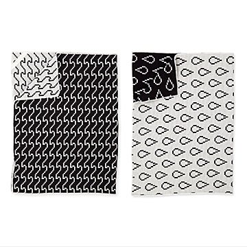 Pixelated Tea Towels - Set of 2