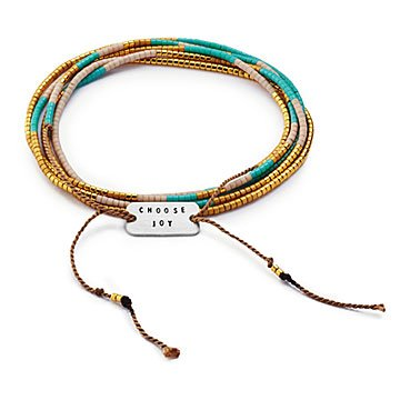 Choose Joy Wrap Bracelet