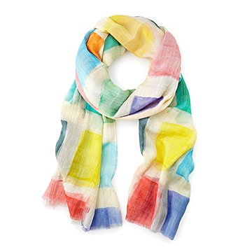 Art of Giving Color Block Scarf