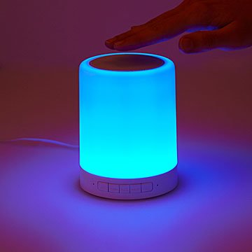 Color-Changing Touch Speaker