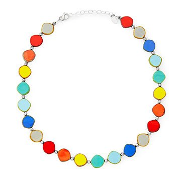 Rainbow Circles Necklace