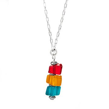 Traffic Light Stacking Necklace