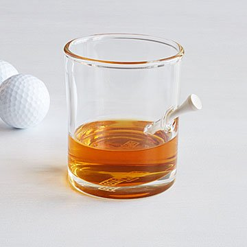 Tee Time Rocks Glass