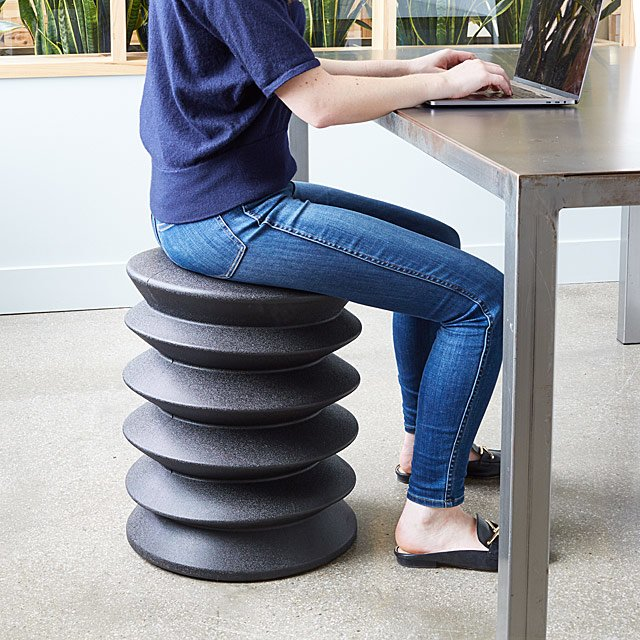 Ergonomic Active Sitting Stool by Uncommon Goods