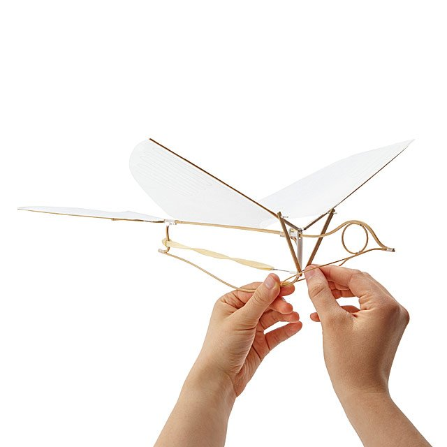 Flying Martha Ornithopter by Emily Fischer