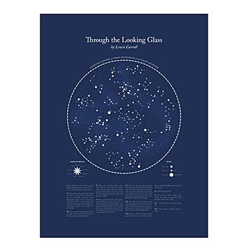Literary Constellation Chart