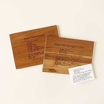 Family Recipe Cutting Board