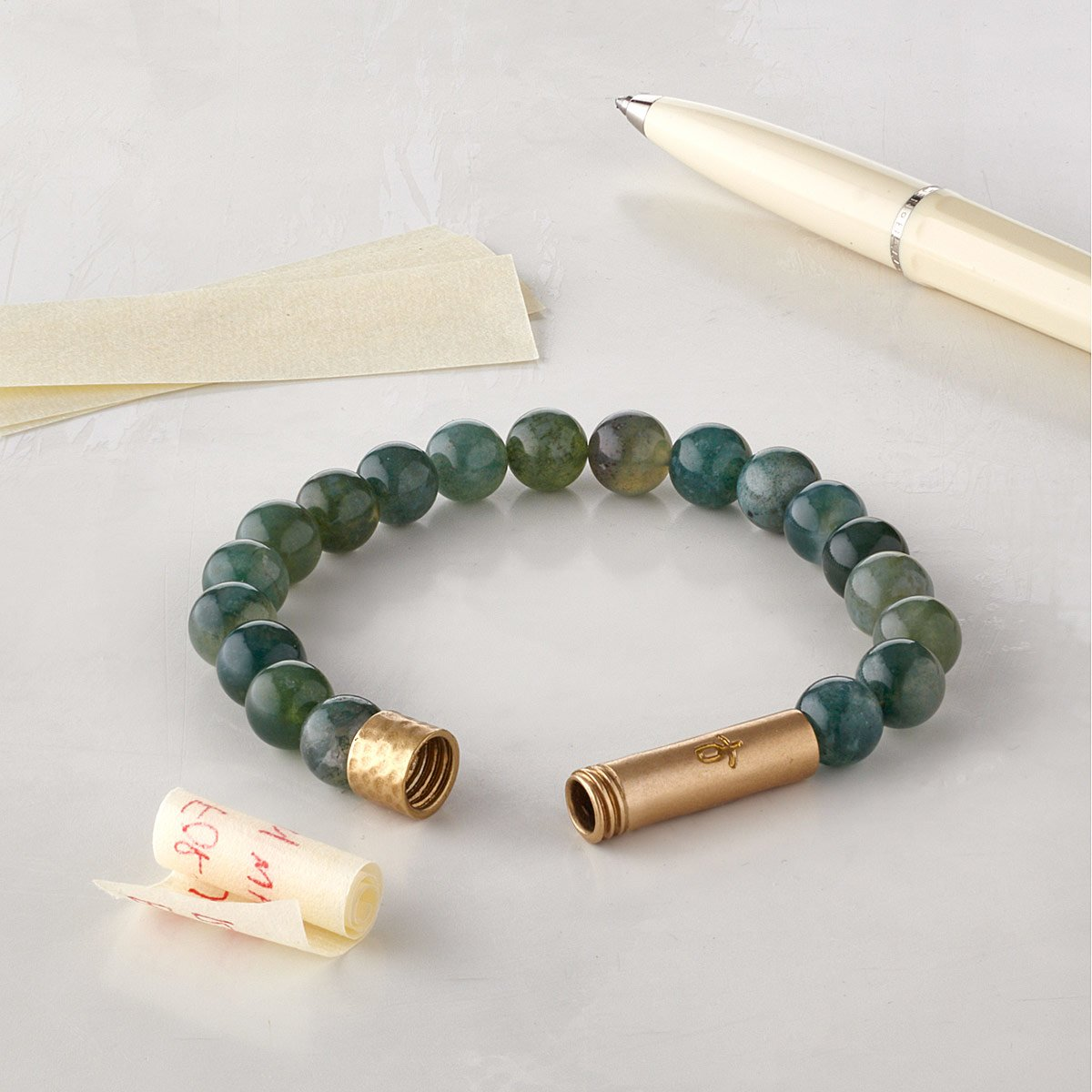 Wishbeads Intention Bracelet Inspirational Jewelry