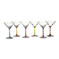 Capri Martini Glasses