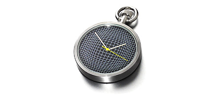 KARIM RASHID POCKET WATCH - UncommonGoods :  mens fashion fashion karim rashid gift