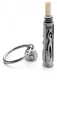 Traveler's Prayer Keychain :  travel pewter keychain