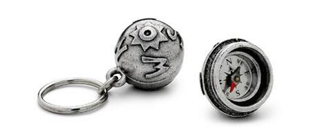 TRUE NORTH KEYCHAIN - UncommonGoods :  travel key chain contest2 keychain