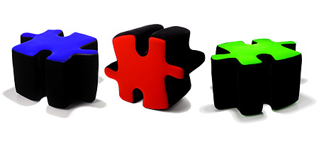 PUZZLE OTTOMAN - UncommonGoods :  puzzle furniture peace ottoman