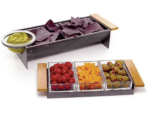 METAL PARTY TRAYS