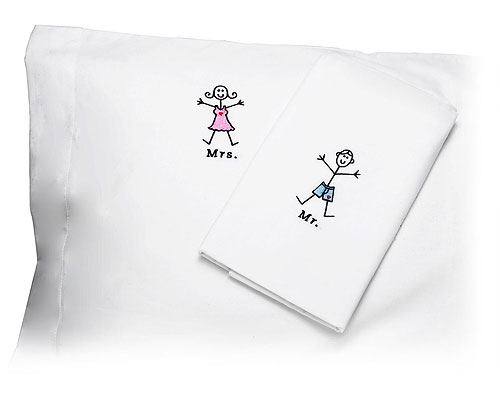 MR. AND MRS. PILLOWCASES
