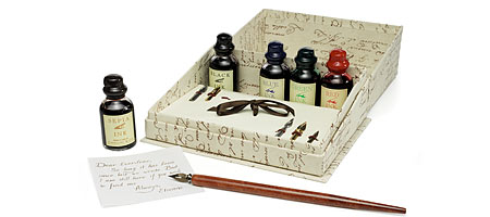 CALLIGRAPHY WRITING SET - UncommonGoods :  calligraphy