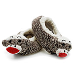 Baby Sock Monkey Slippers