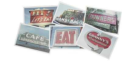 DINER SIGNS DISPOSABLE PLACEMATS - UncommonGoods