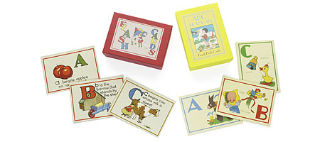 ABC FLASHCARDS - UncommonGoods :  childrens uncommongoods flashcards abc flashcards