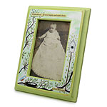 BABY FRAME | Beautiful Tree and Bird's Nest Ian Nicholas Artwork Picture Frame with Robert Browning Quote | UncommonGoods