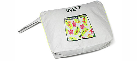 WET TRUNKS BAG - UncommonGoods :  uncommongoods wet trunks bag trunks bag