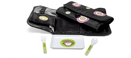 KNICK-KNACK BABY PACK - UncommonGoods :  baby travel pack feeding