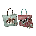 Zebra and Crocodile Totes