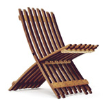 Wine Barrel Chair | Recycled Oak Wine Barrel Folding Chair