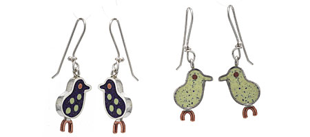 CHICK DANGLE EARRINGS - UncommonGoods