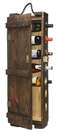 AMMUNITIONS CASE WINE RACK - UncommonGoods :  home wine wine rack