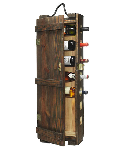 AMMUNITIONS CASE WINE RACK