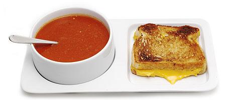 Soup & Sandwich Platter