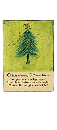 O TANNENBAUM WALL ART - UncommonGoods