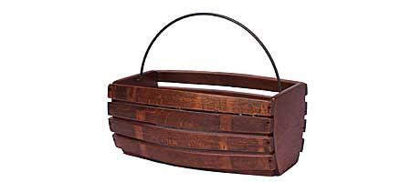 RECYCLED WINE BARREL BASKET - UncommonGoods