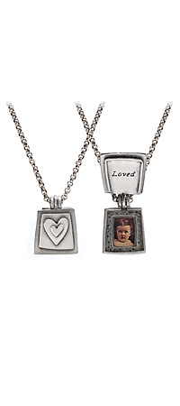 Loved - Photo Necklace