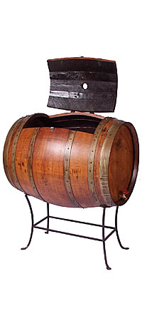 RECYCLED WINE BARREL COOLER - UncommonGoods