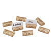 Wine Cork Place Card Holders- Set of 8