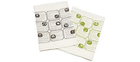 HERBS AND SPICES KITCHEN TOWELS - SET OF 2 - UncommonGoods