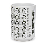 SUMO EMOTIONS CUP | Funny Facial Expressions Ceramic Coffee, Tea Mug | UncommonGoods :  uncommongoods cartoon sumo cup sumo wrestler