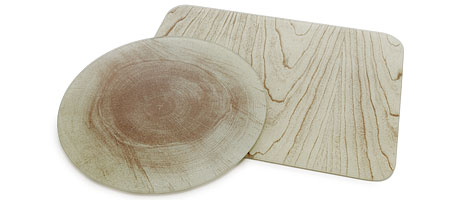 WOOD PATTERN GLASS CUTTING BOARDS - UncommonGoods :  glass kitchen home cutting