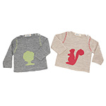 UncommonGoods: Hand Knit Boat Neck Baby Sweater :  uncommon goods kids sweater apparel